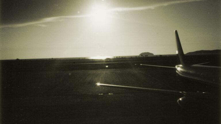 クアラルンプール空港、機内からの景色