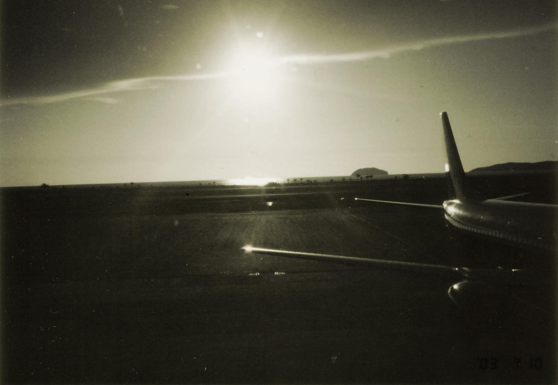クアラルンプール 機内からの風景